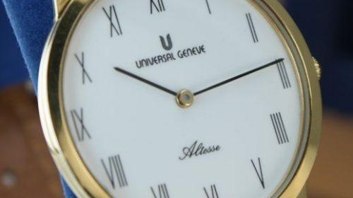 "Universal Genève – Collection ""Altesse"" – Men – LuxurySwiss watch"
